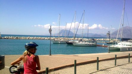off to the Patras harbour